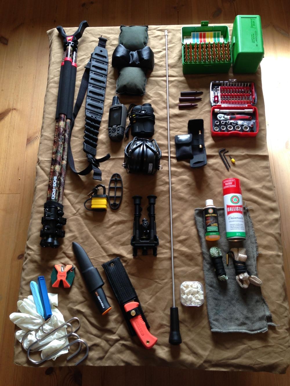 Jagdwaffenzubehör – Vom Mindestumfang zum Spezialbedarf