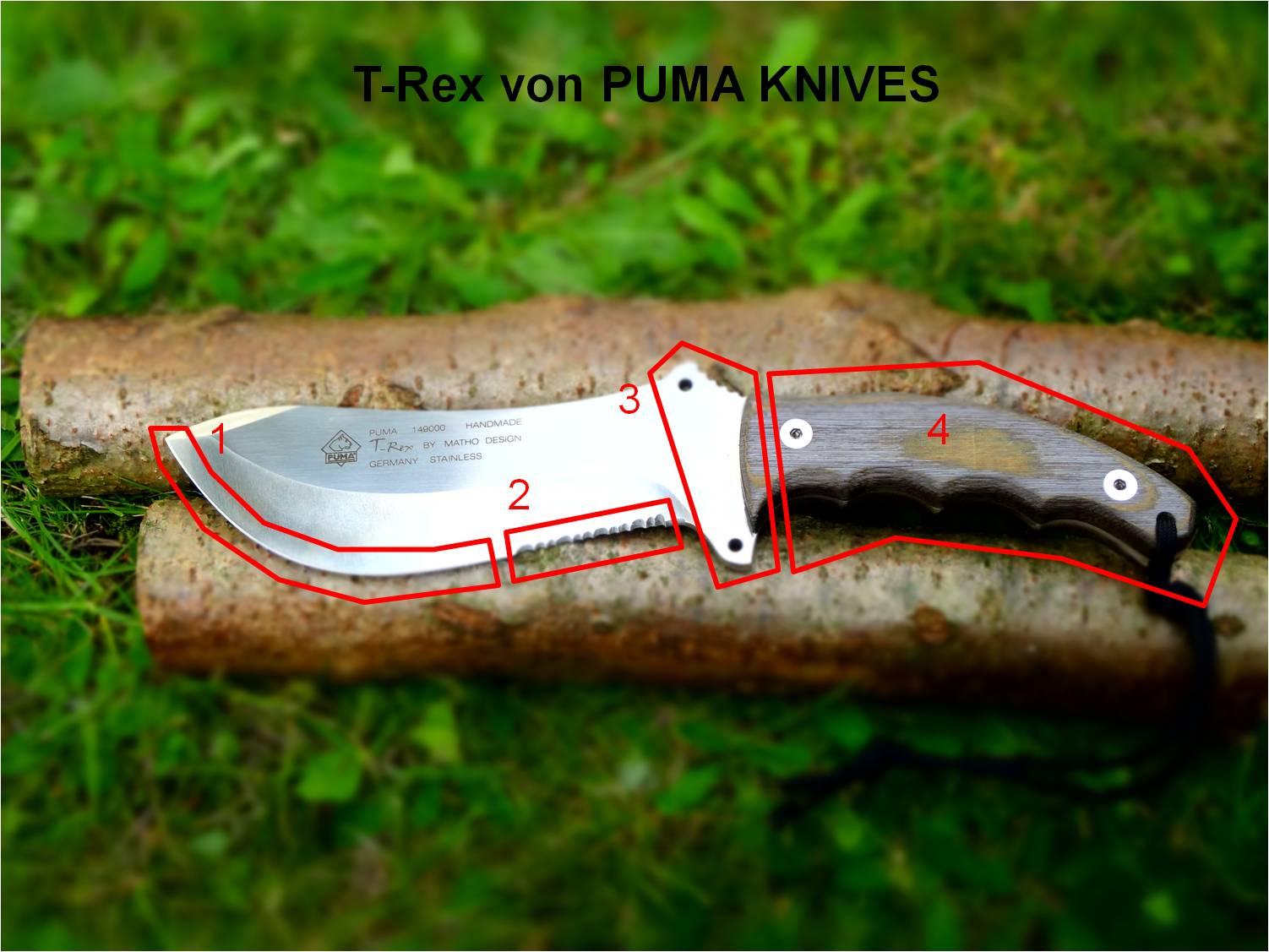 T-Rex PUMA KNIVES