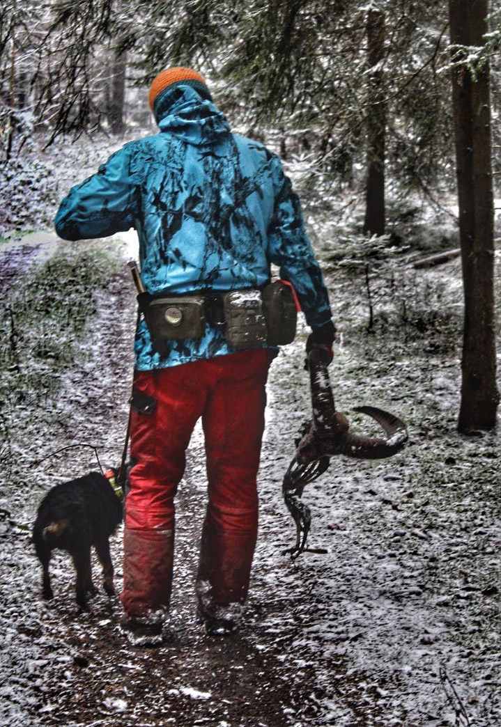 Der Ausrüstungsgürtel für den aktiven Jäger und Hundeführer