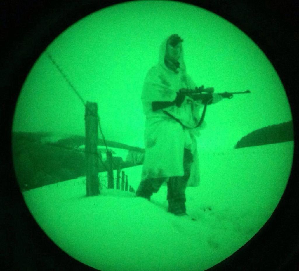 Jagd mit Nachtsichtgeräten