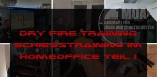 Beitragsbild Dry Fire Training Teil I