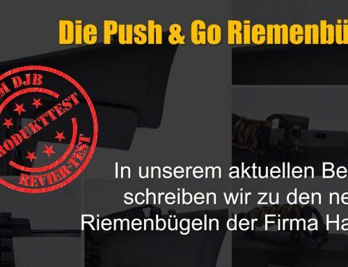 Projekt Jungjäger sucht Jagdbüchse Teil VIII – Die Push & Go Riemenbügel